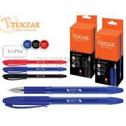"""Ручка шар. """"TUKZAR Vista"""" чер. на масл. основе, пластик.клип., игольчатый"""